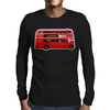 The London Bus Mens Long Sleeve T-Shirt