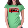 The London Bus Womens Fitted T-Shirt