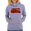 The London Bus Womens Hoodie