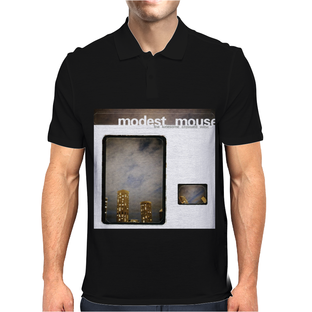 The Lonesome Crowded West Modest Mouse Mens Polo