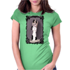 the Lovecats by Rouble Rust Womens Fitted T-Shirt