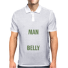 The man behind the belly Mens Polo