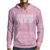 The Man Behind The Bump Mens Hoodie