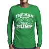The Man Behind The Bump. Mens Long Sleeve T-Shirt