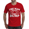 The Man Behind The Bump. Mens T-Shirt