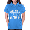The Man Behind The Bump. Womens Polo