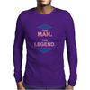 THE MAN - THE LEGEND FUNNY Mens Long Sleeve T-Shirt