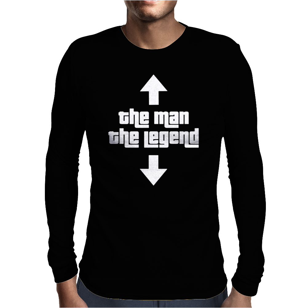 The Man The Legend Mens Long Sleeve T-Shirt