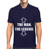 The Man The Legend Mens Polo
