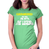 The Man The Myth The legend Womens Fitted T-Shirt