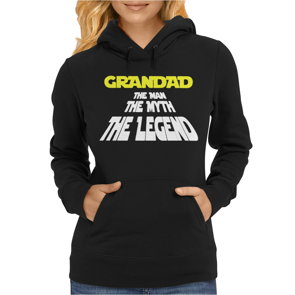 The Man The Myth The legend Womens Hoodie