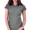 The Mandalorian Code Womens Fitted T-Shirt