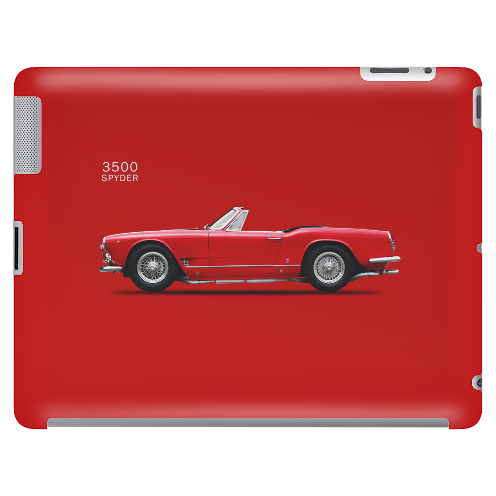The Maserati 3500 Tablet (horizontal)