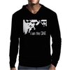 The Matrix Tribute The One Mens Hoodie
