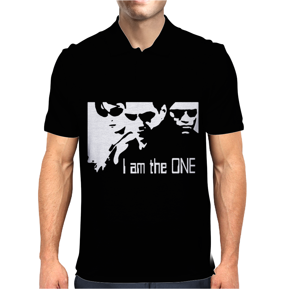 The Matrix Tribute The One Mens Polo