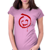 The Mentalist Red John Calling Card Womens Fitted T-Shirt