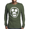 The Mighty Boosh Skull Mens Long Sleeve T-Shirt