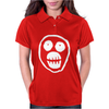 The Mighty Boosh Skull Womens Polo