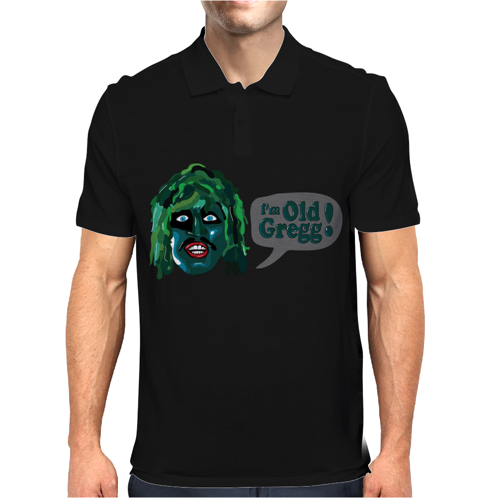 THE MIGHTY BOOSH TV SERIES - I'M OLD GREGG! - LOVE GAMES Mens Polo