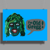 THE MIGHTY BOOSH TV SERIES - I'M OLD GREGG! - LOVE GAMES Poster Print (Landscape)