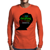 The mind is everything Mens Long Sleeve T-Shirt