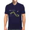 The Monaco Grand Prix Circuit Mens Polo