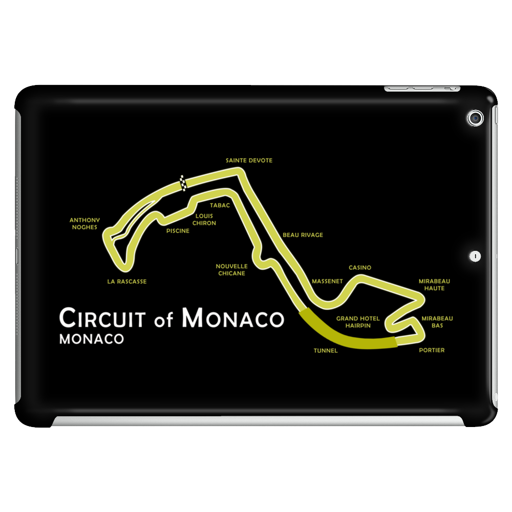 The Monaco Grand Prix Circuit Tablet