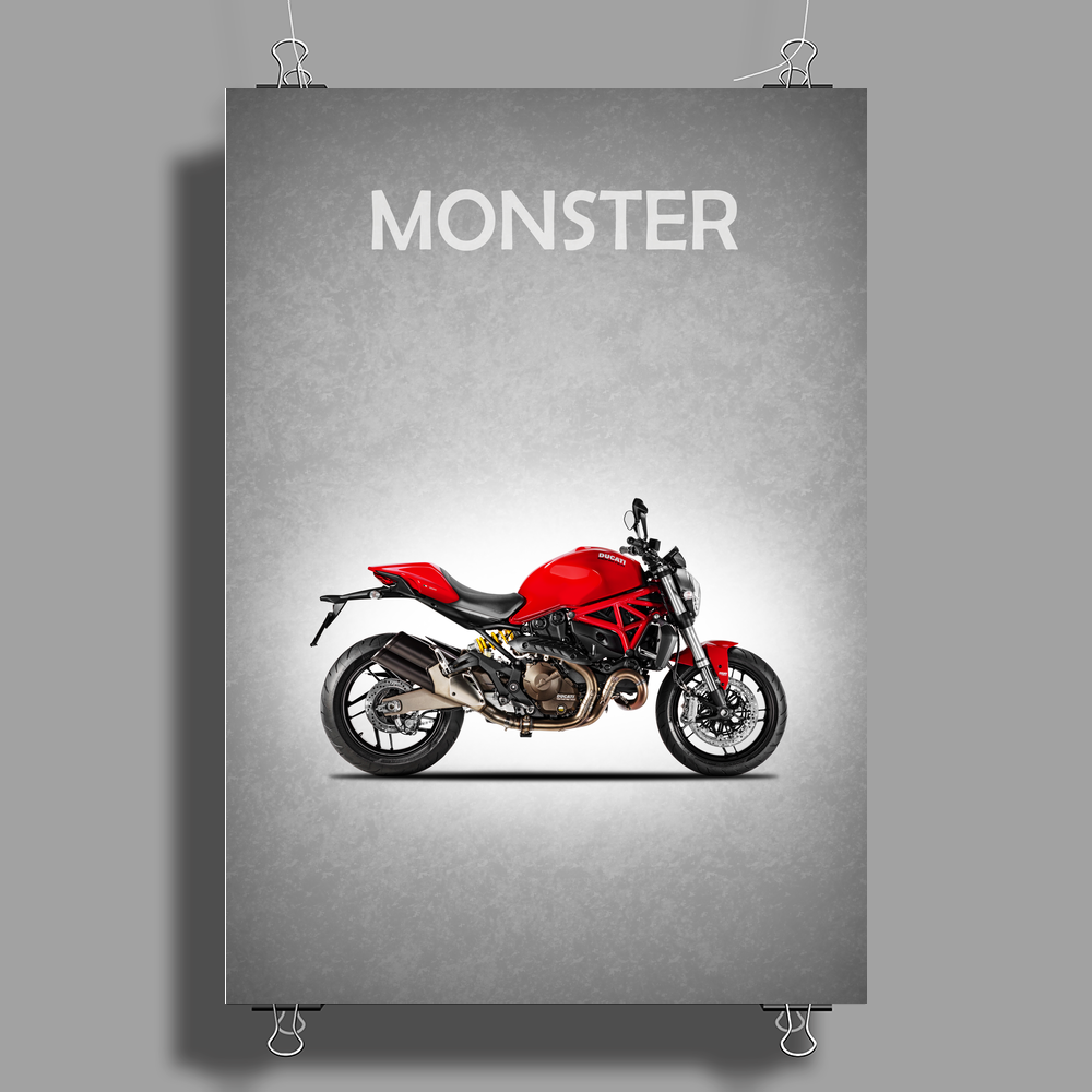The Monster Poster Print (Portrait)