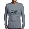 The Morning Workout - Thoroughbred Horse Racing Mens Long Sleeve T-Shirt