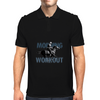The Morning Workout - Thoroughbred Horse Racing Mens Polo
