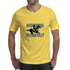 The Morning Workout - Thoroughbred Horse Racing Mens T-Shirt