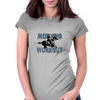 The Morning Workout - Thoroughbred Horse Racing Womens Fitted T-Shirt
