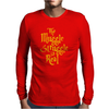 The Muggle Struggle Is Real Mens Long Sleeve T-Shirt