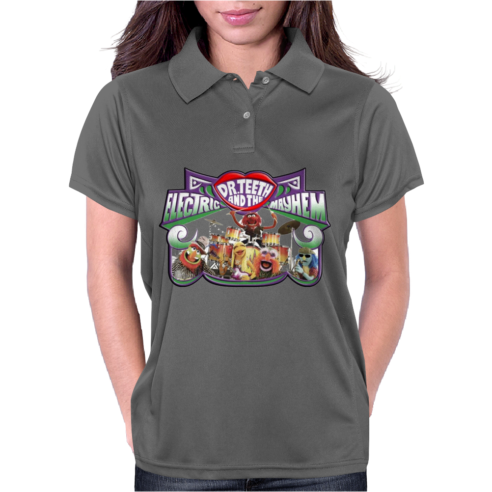 The Muppets Dr Teeth, Ideal Birthday Gift Or Present Womens Polo