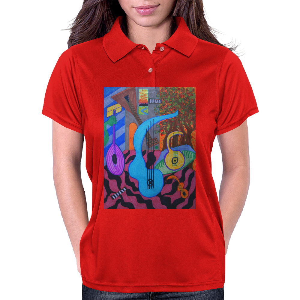 The Musician's Studio Womens Polo