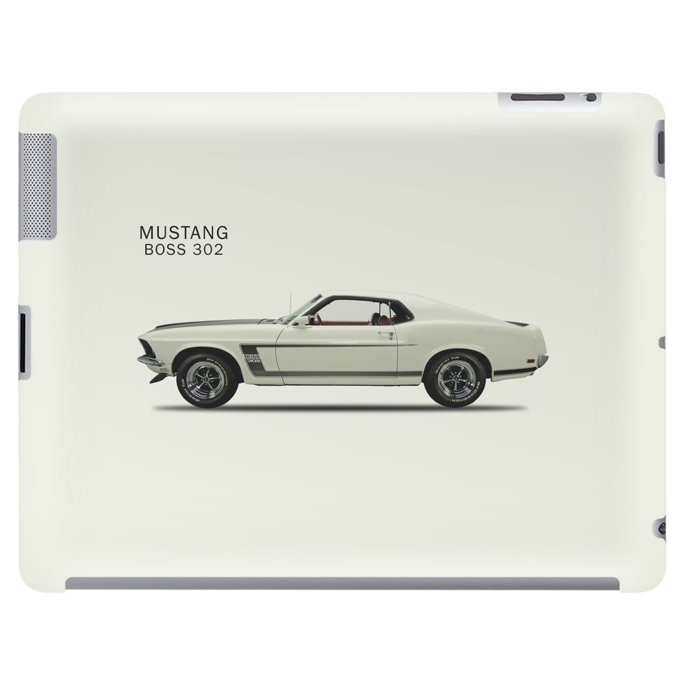The Mustang Boss 302 Tablet (horizontal)