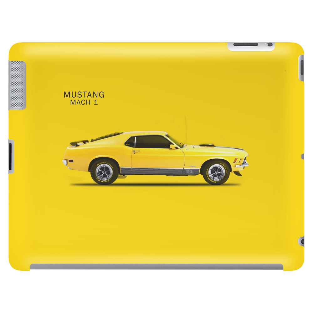 The Mustang Mach 1 Tablet (horizontal)