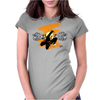 The ninja! Womens Fitted T-Shirt