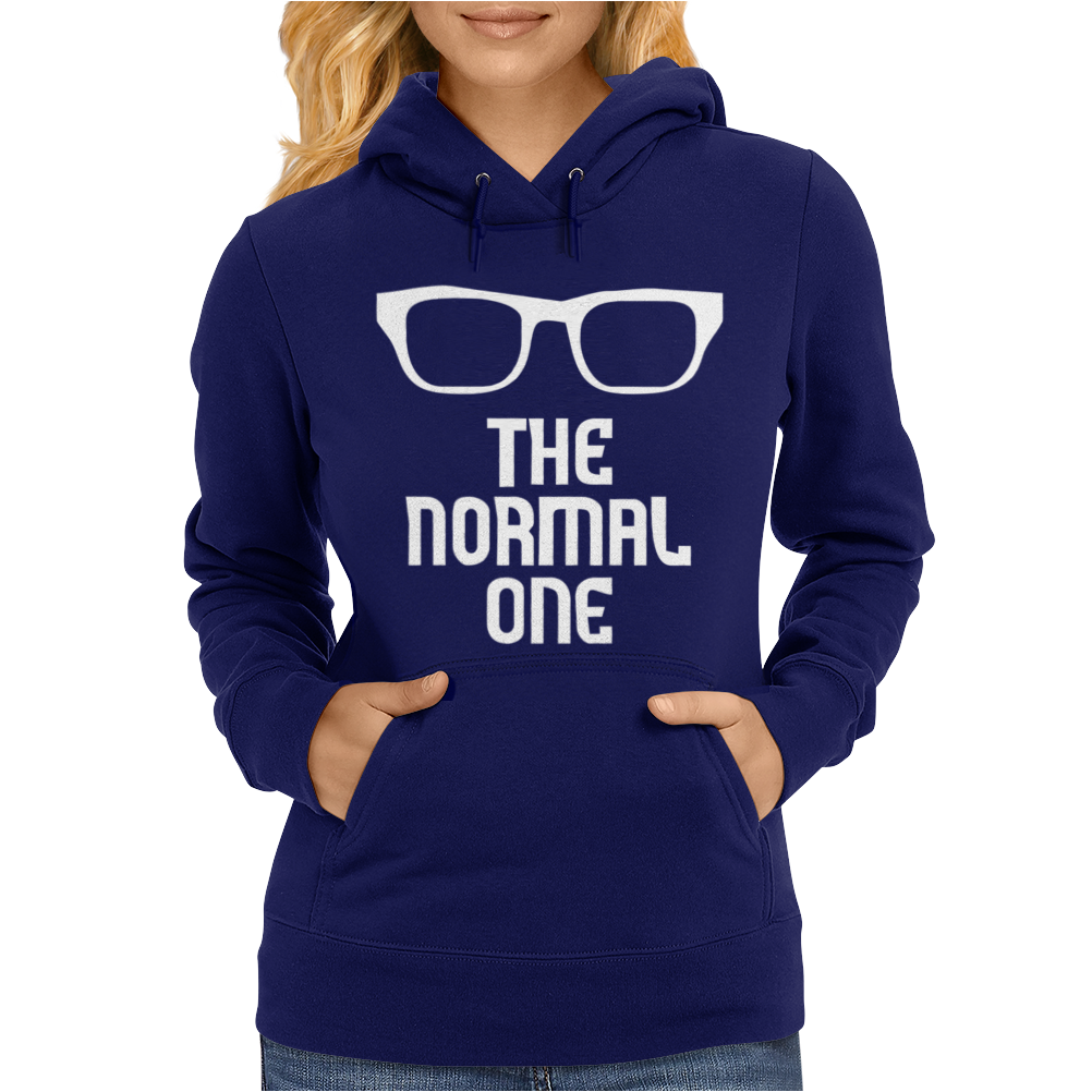 The Normal One Funny Womens Hoodie