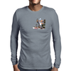 The normal working day Mens Long Sleeve T-Shirt