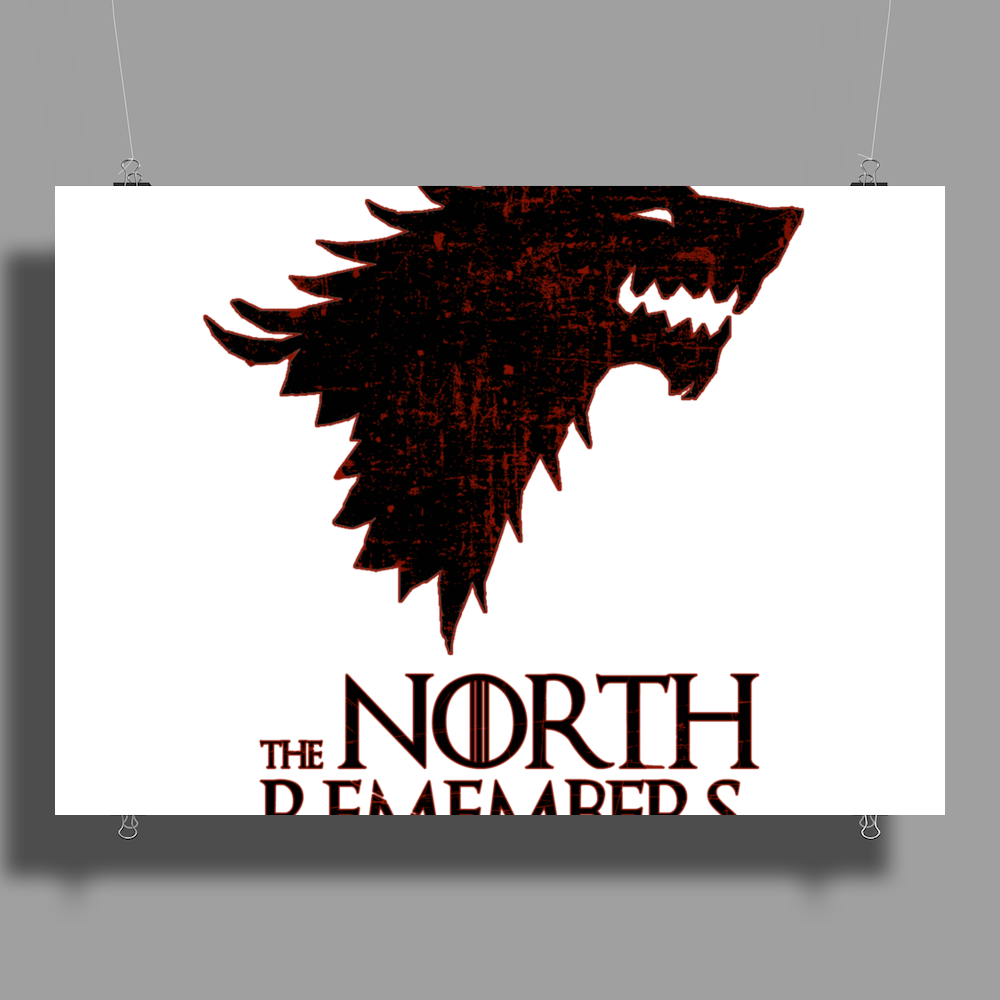 The North Remembers #2 Poster Print (Landscape)