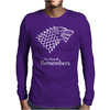 The North Remembers Mens Long Sleeve T-Shirt