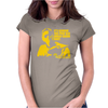 The Omega Man Charlton Heston Womens Fitted T-Shirt