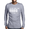 The Only Thing I Fear Is The River Card Poker Mens Long Sleeve T-Shirt
