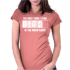 The Only Thing I Fear Is The River Card Womens Fitted T-Shirt