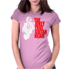 The only true guitar hero Womens Fitted T-Shirt