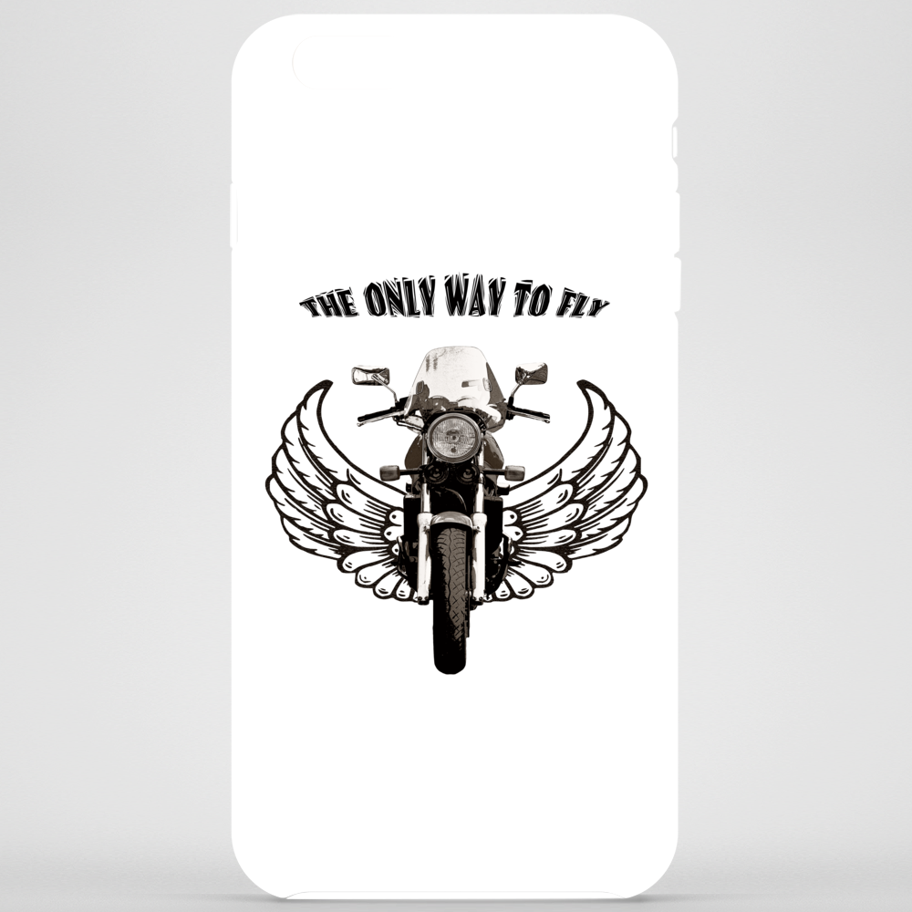 THE ONLY WAY TO FLY Phone Case