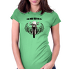 THE ONLY WAY TO FLY Womens Fitted T-Shirt