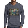 The Owl and the Cat Mens Hoodie