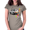 The Party Wagon Womens Fitted T-Shirt